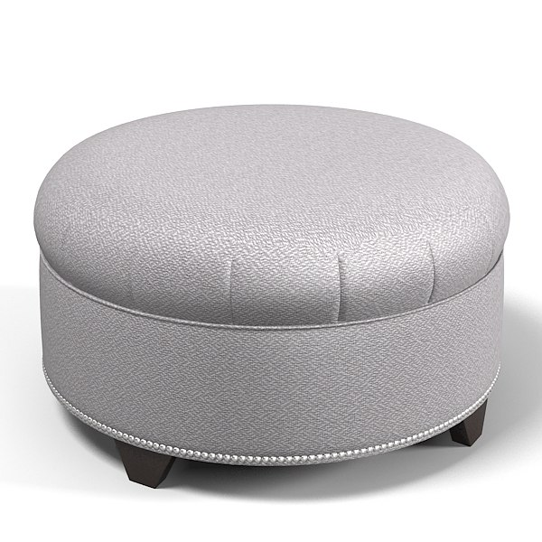 Outstanding Pouf Round Banquette Traditional Ottoman Contemporary Modern Seating Ncnpc Chair Design For Home Ncnpcorg