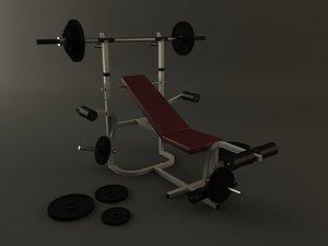maya bench press