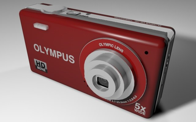 3ds max olympus vg120 14mp digital camera