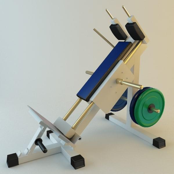 exercise machine 3d model