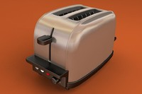 3d model toaster tefal