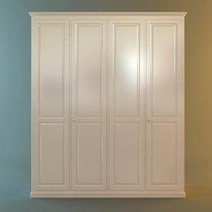 3ds max wardrobe cabinet
