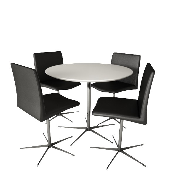 modern chairs table 3ds
