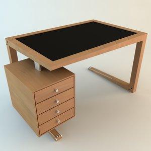 desk details 3d model