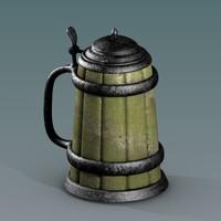 obj tankard cup