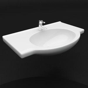 sink ido mosaik 3d model