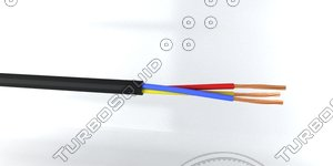 3 core cable 3ds