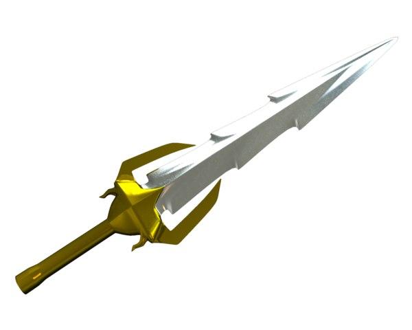 free sword cut 3d model