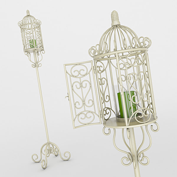 candle holder 3d max