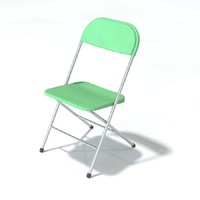 3ds max folding chair