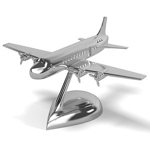 3d airplane dc9 eichholtz model