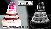3d model r12 birthday cake