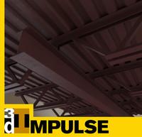 ceiling truss 3d model