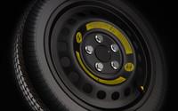 3d spare wheel rim tire