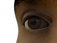 3ds max eye iris