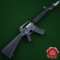 M16A2 Assault Rifle with M9 Bayonet
