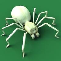 3d rig spider model
