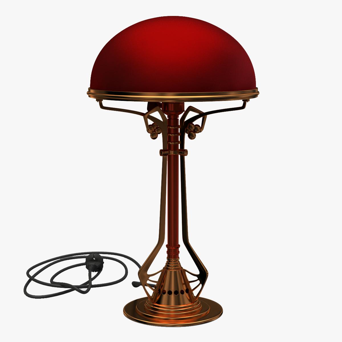 3d table lamp v2 model