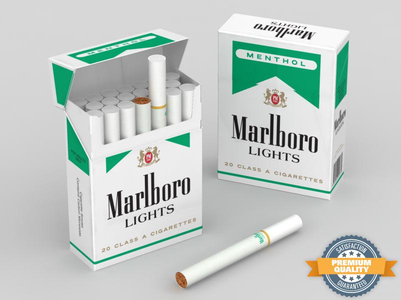 Cigarette Craven A sans filtre