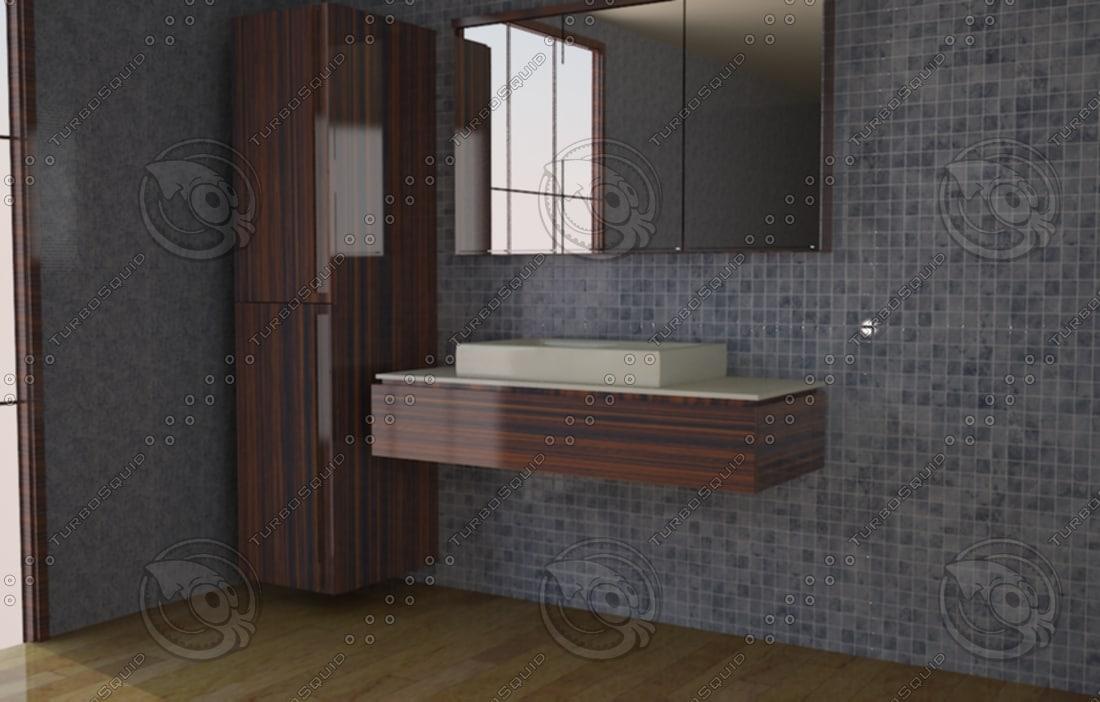bathroom 3d max