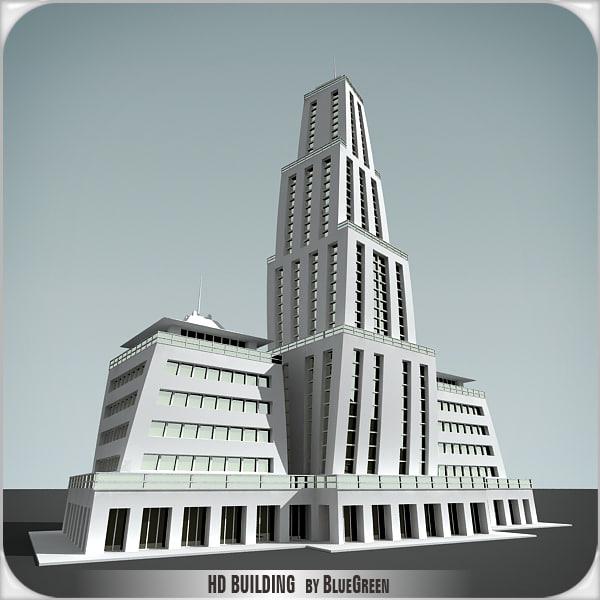 3d c4d definition building