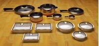 3dsmax pots pans bakeware
