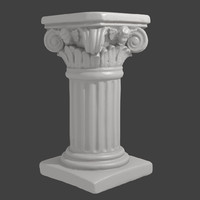 3D Scan of Decorative Column