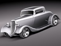 Ford 1934 Full Fender Coupe StreetRod