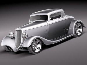 max 1934 fender coupe hotrod