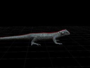 3ds mesh gecko