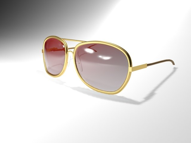 sunglasses glasses 3d max