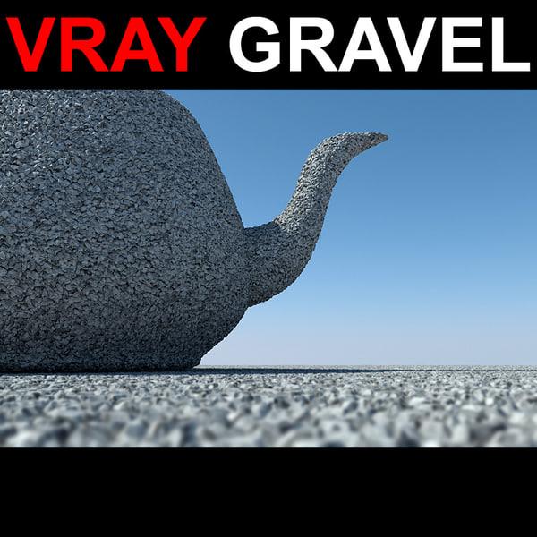 displaced gravel max