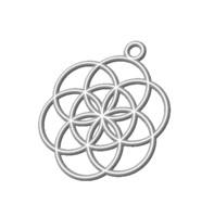 3ds pendant flower life