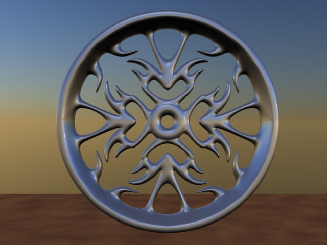 free wheels rims 3d model