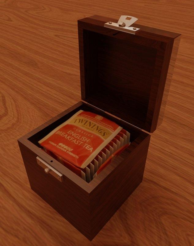 max decorated box tea