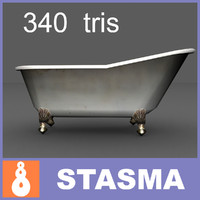 3d slipper bath