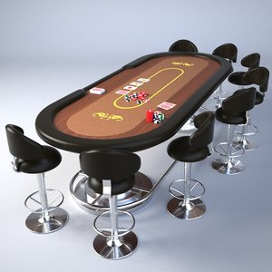 obj poker table