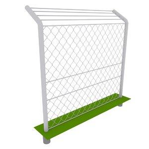3d model fence mesh 2010