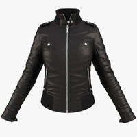 3d model woman jacket
