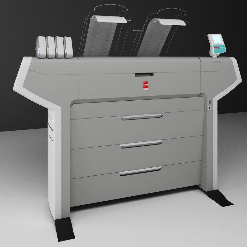 3d model oce plotter