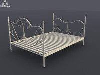 Provencale Double Bedstead - Frame Only