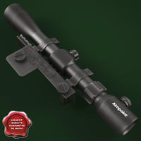 3d aimpoint optical scope model