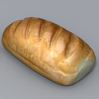 realistic loaf 3ds
