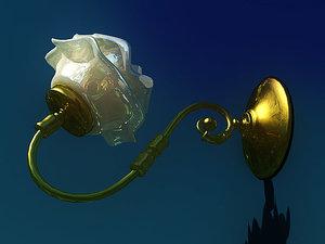 3d 3ds sconces lamps lighting