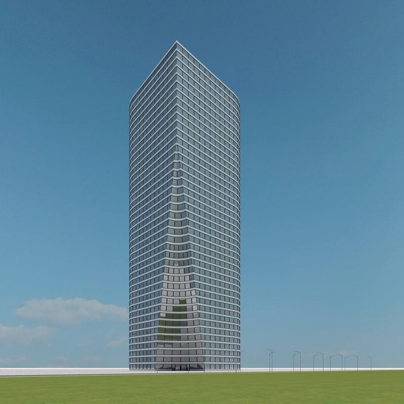 new skyscraper 79 3d model