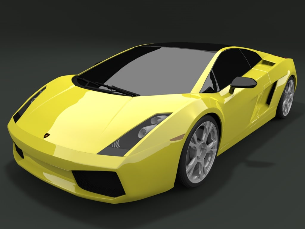 3d model interior vehicle