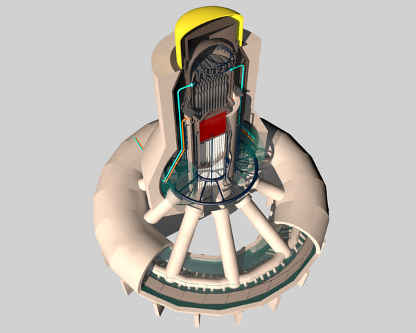 3d model reactor core cooling fukushima