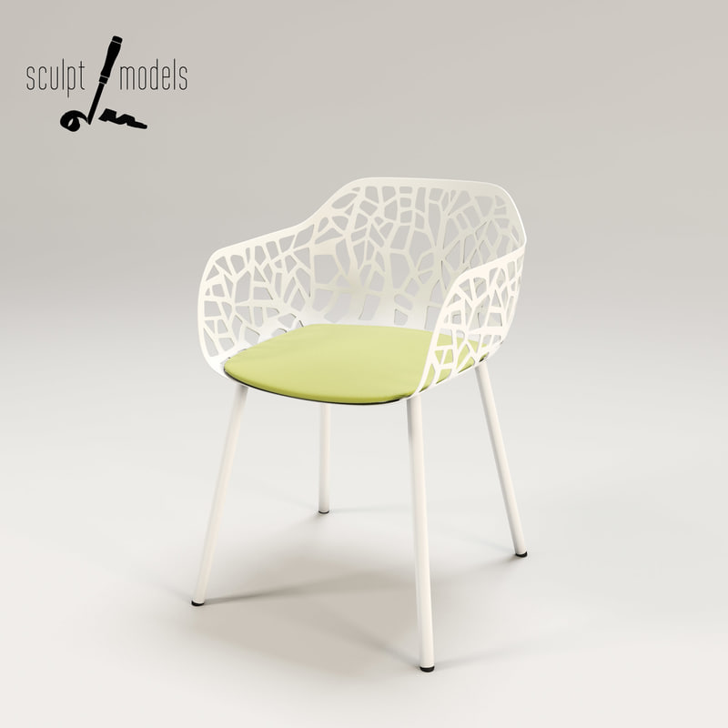 3ds max breeze chair
