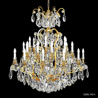 Schonbek 3774 big classic luxury crystal swarowski chandelier candle light lamp