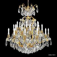 Schonbek 3774 big classic luxury crystal swarowski chandelier candle light lamp